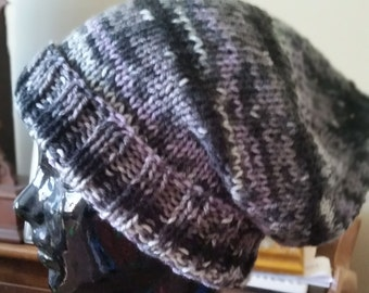 Knit Oversized Slouchy Hat
