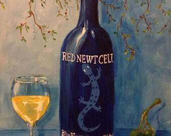 Blue Newt