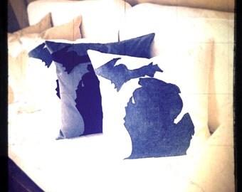 Michigan Mitten Pillows