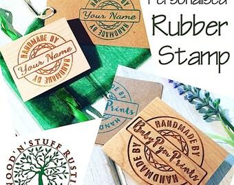 Personalised Rubber Stamp - Custom Design (1)