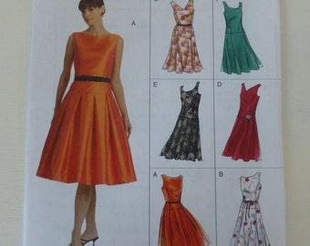 Vogue 8020 Easy Options Dress pattern sz. 12-16 uncut