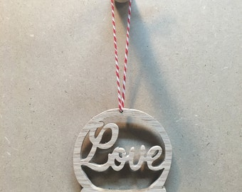 Christmas Ornament - Love