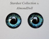 New Stardust Collection - ooak Blythe hand painted eye chips no752 by AlmondDoll