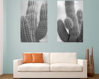 Cactus photography, minimalist photography, black and white photograph, saguaro, black and white home decor,cactus print, desert photography