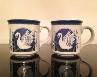 Vintage Otagiri Swan Mug