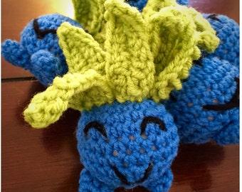 Crochet Pokemon inspired oddish