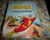 Shazam A Circus Adventure Little Golden Book 1977 Comic