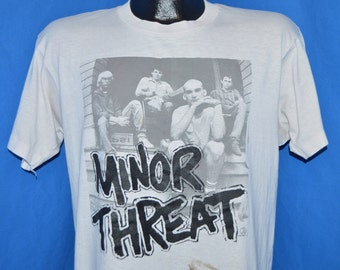 80s Minor Threat Salad Days Zed's Records t-shirt L