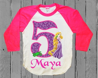 Rapunzel Birthday Shirt - Tangled Shirt