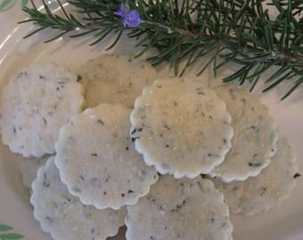 Rosemary Shortbread Cookies