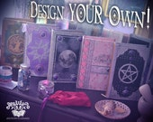 Design Your Own Custom Book of Shadows Request Your Own Unique Customized Handmade Design