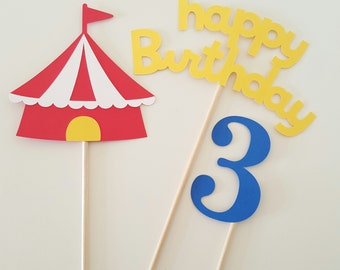Circus Centerpiece, Circus Birthday, Circus Decorations, Carnival Birthday, Carnival Centerpiece, Circus, Carnival