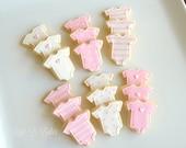 24 Mini Baby Shower Cookies!
