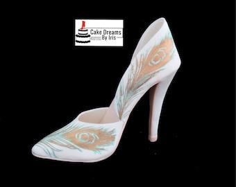 High heel sugar shoe