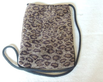 Fabric cell phone purse