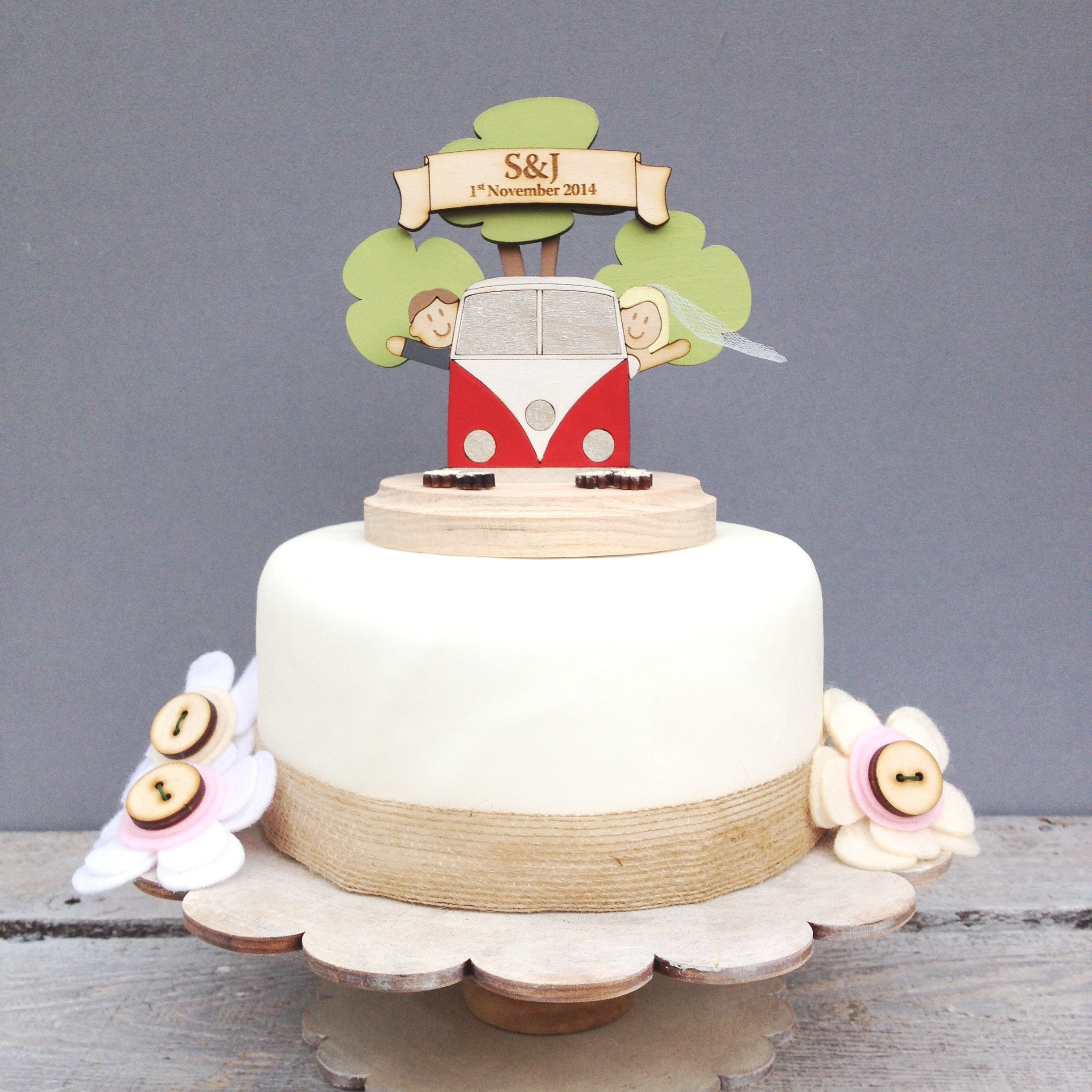 Cake Toppers Etsy Uk : cake toppers and personalised gifts by JustToppersUK on Etsy