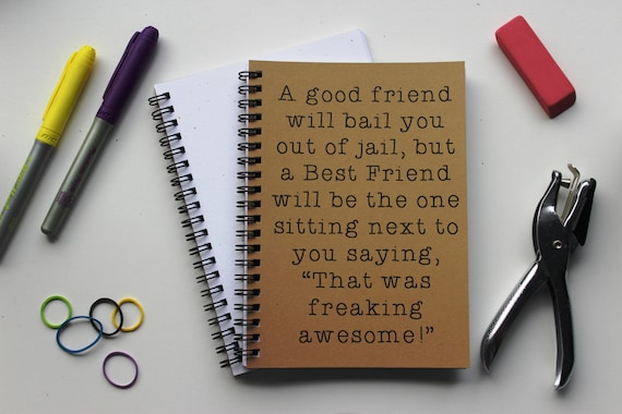 Funny BFF Journal