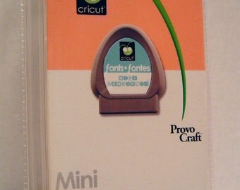 Cricut Cartridge Mini Monograms, New, Blister Pack Sealed,PRICE REDUCED