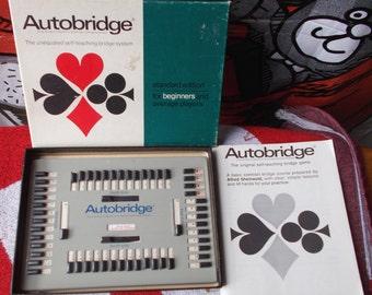 Vintage Parker Brothers Auto Bridge Game 1000