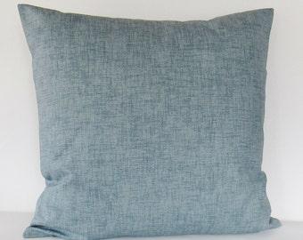 Gray Decorative Pillow Cover Throw Toss Accent Sofa 16x16 18x18 20x20 22x22 12x16 12x18 12x20 14x22 Zipper