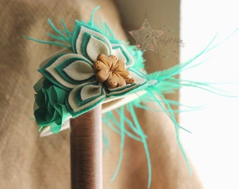 St. Patrick's day mini top hat - mini hat - St. Patrick's day fascinator - mini top hat - fascinator - photo prop - mini hat headband
