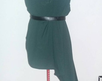 High/low side tunic