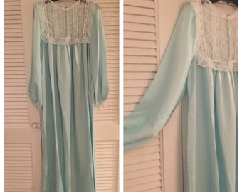 Christian Dior Vintage Night Gown, Medium