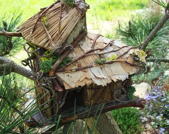 Outdoor fairy house Etsy