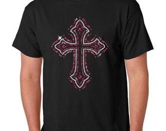 Cross Sequin T-Shirt
