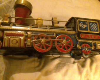 W&A.R.R. made in Japan battery operated train. Does not work.