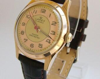 A 1950s Larex wrist watch