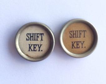 Antique Typewriter Keys // SHIFT KEY // One Key