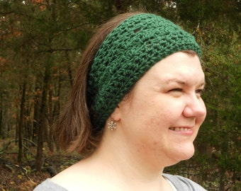 Ear-Warmer - Winter Headband - Women's Earwarmer - Crochet Ear Warmer - Crochet Headband - Headband - Earwarmer
