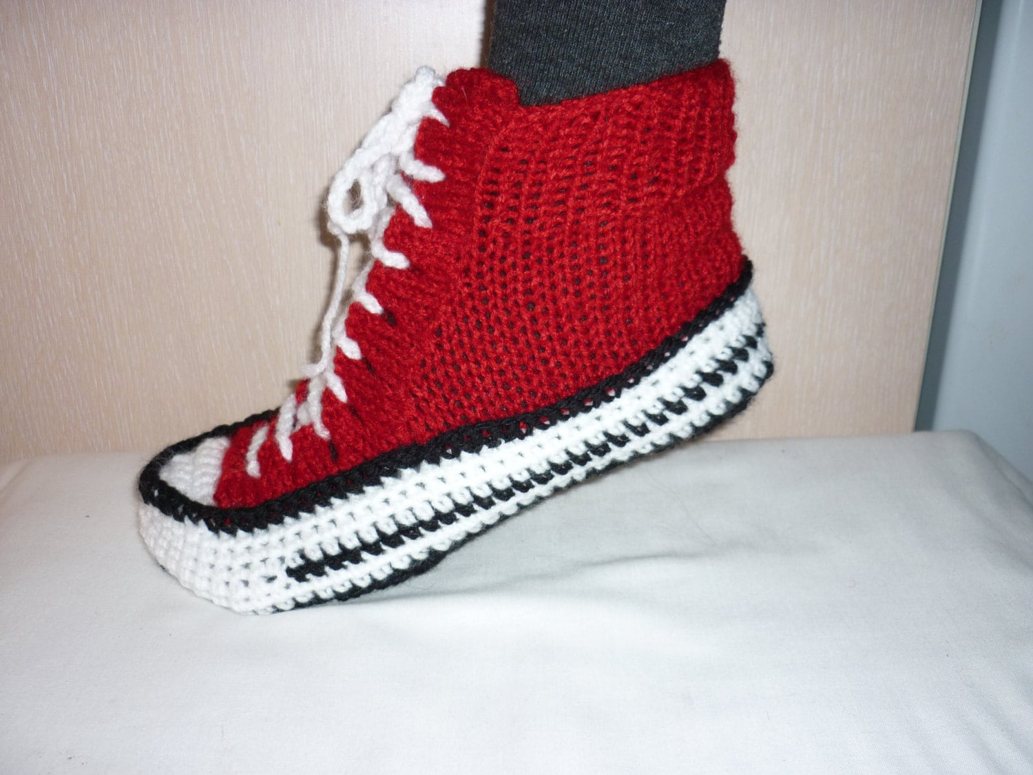 Men Converse Slippers Crochet Converse Slippers Crochet