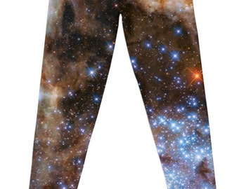 Star Cluster R136 NASA Leggings