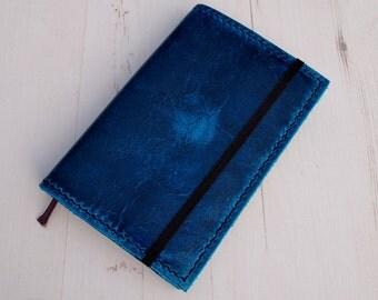 Antique Claudel Leather Moleskine Cover, Hand-stitched Pocket Moleskine Cover,Hand-stitched Large Moleskine Cover
