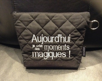 Pouch with positive thinking...