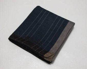 Calvin Klein Men Stripe Geometric Pattern Handkerchief (F)