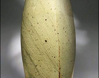 Monumental Warren Mackenzie Studio Art Pottery Square Stoneware Bottle