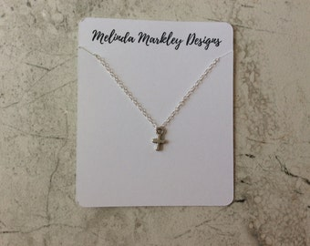 Everyday Cross Necklace | Sterling-Silver | Delicate Cross Pendant