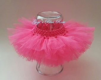 Baby Pink Tutu/Baby Photo Prop/Baby Costume/Made to Order