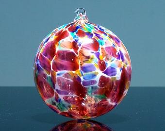 Portland Rose, Hand Blown Glass Ornament
