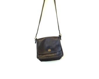 Vintage COACH Leather Purse / Coach Crossbody