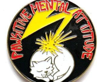 PMA Bad Brains Cat Pin