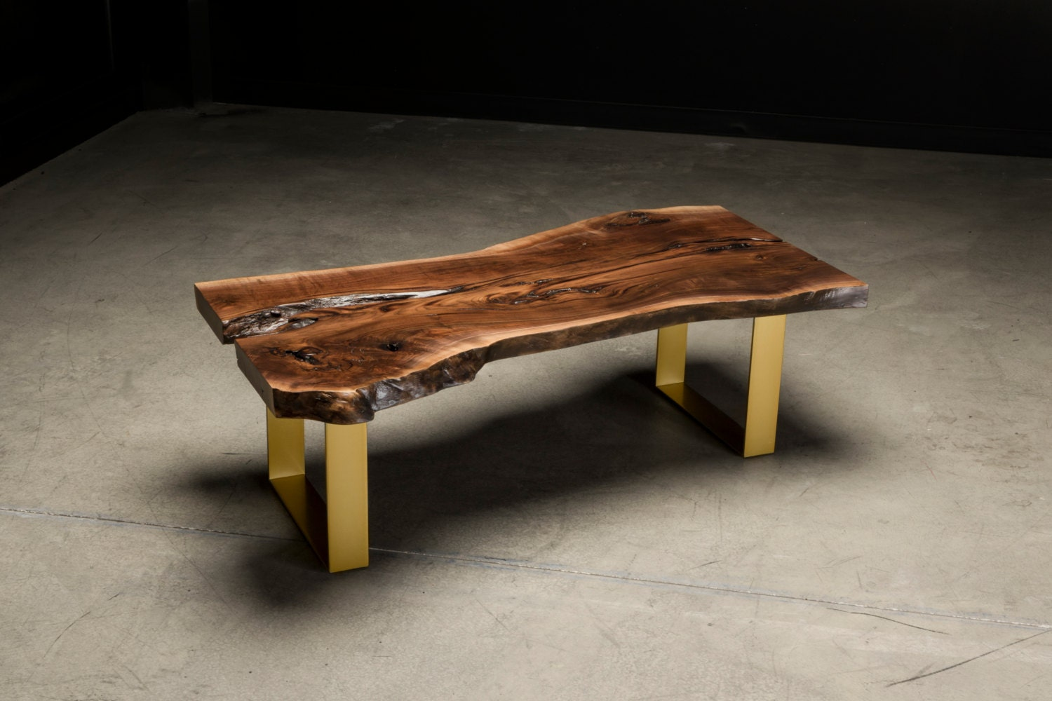 Live Edge Coffee Table Fremont Table Walnut Slab Coffee