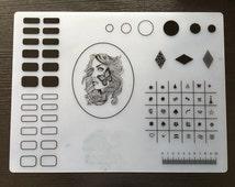 1pc Soft Silicone Mat for Nail Art Transfer Mat for Nail Art Design na-64