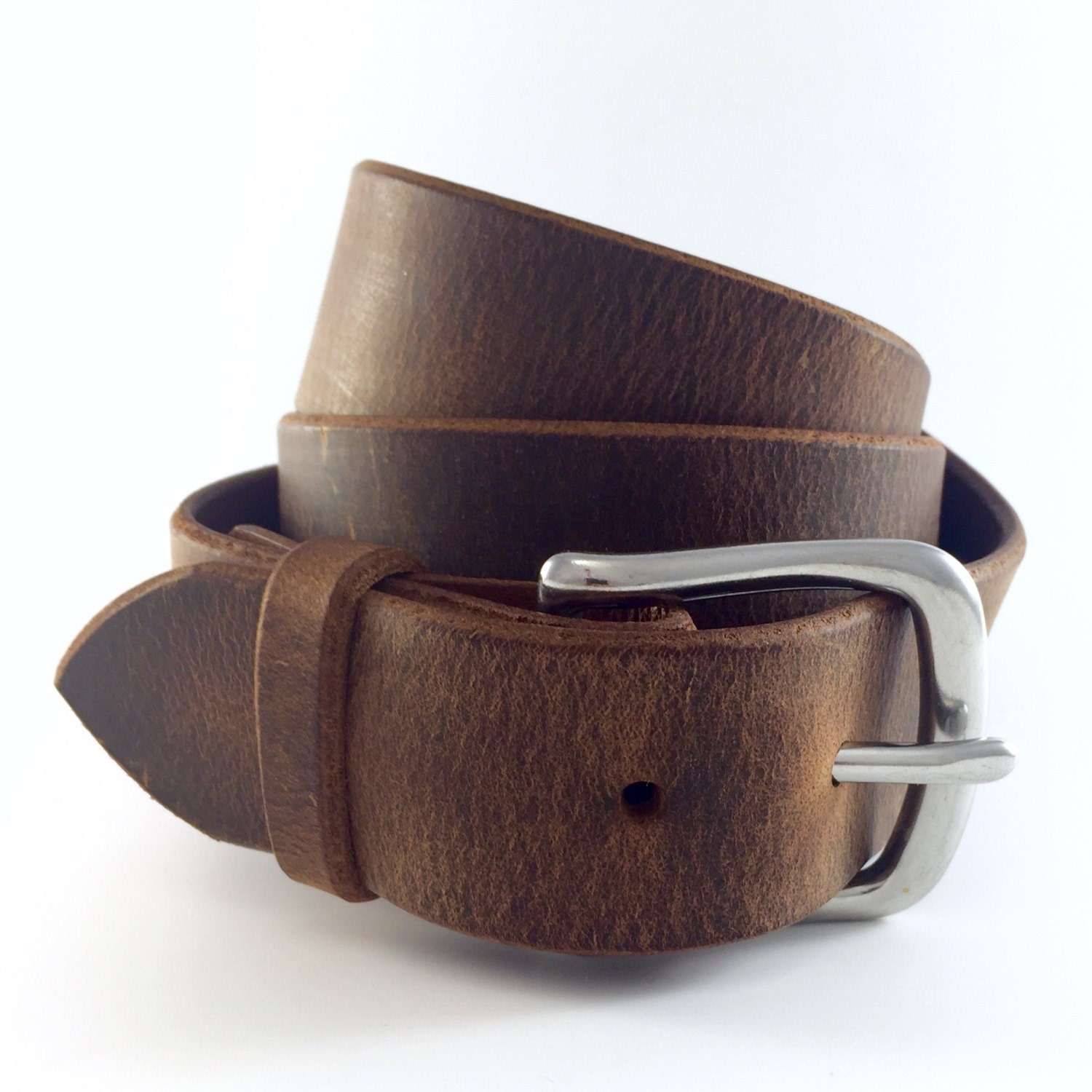 Men S Belt Distressed 100 Year Belt Full Grain Leather