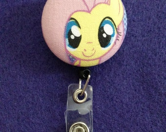 My Little Pony: Friendship is Magic Fluttershy Retractable Badge Reel