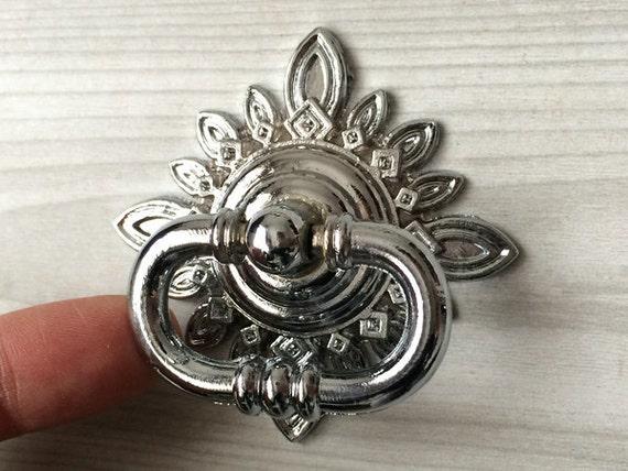 Drop Ring Knob Dresser Drawer Pull Rings Handles Antique