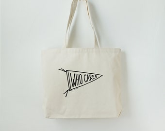 Sports Team Pennant Tote